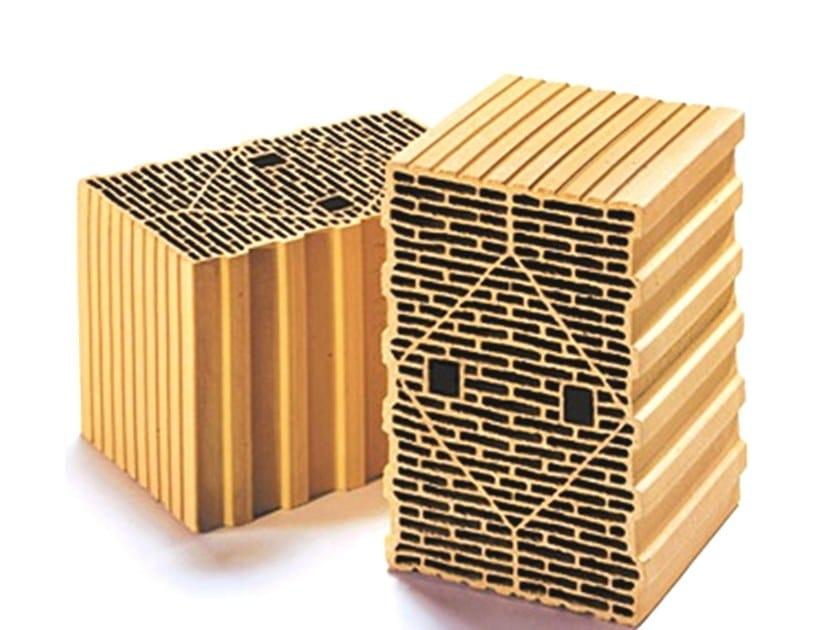 External masonry clay block THERMOBLOCK® SX 10 by DECORUS