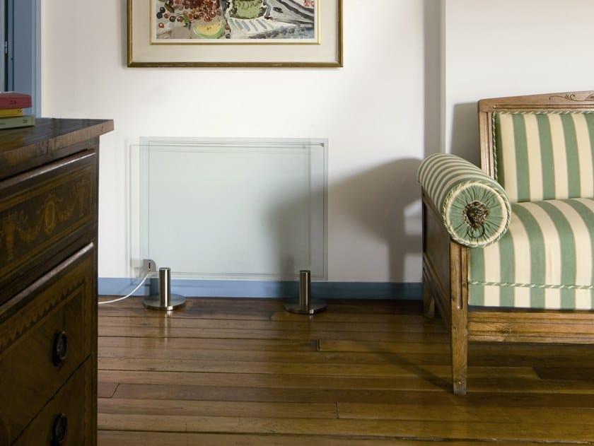 Floor-standing infrared radiator THERMOGLANCE ® 600X800 | Floor-standing decorative radiator by Thermoglance®