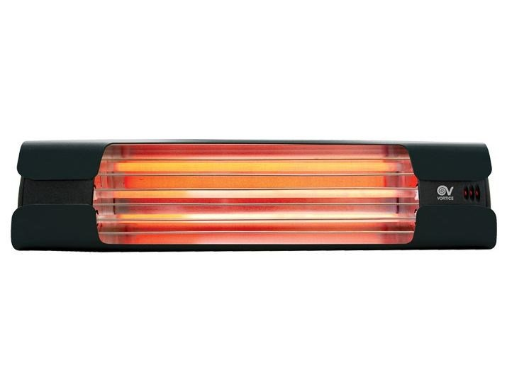 Lampada a raggi infrarossi da installazione THERMOLOGIKA DESIGN GRIGIO ANTRACITE by Vortice