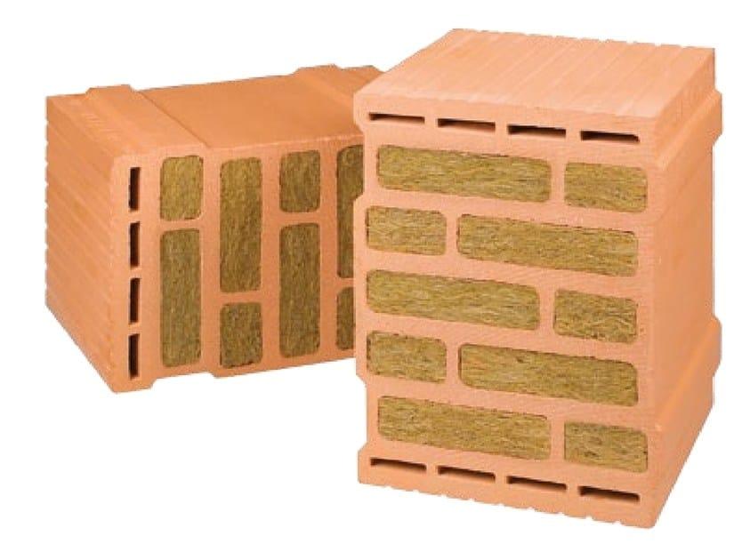 Loadbearing clay block THERMOPLAN® SISMICO PLUS by DECORUS
