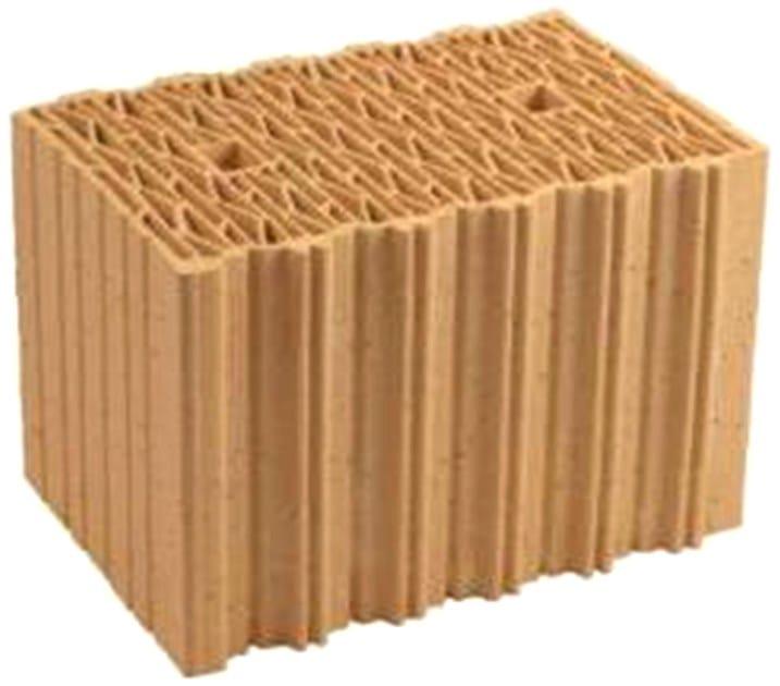 Clay block for loadbearing masonry THERMOPLAN® SX-PLUS by DECORUS