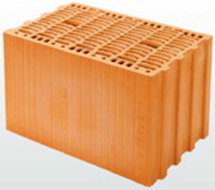 Thermal clay block THERMOPLAN® T 16 by DECORUS