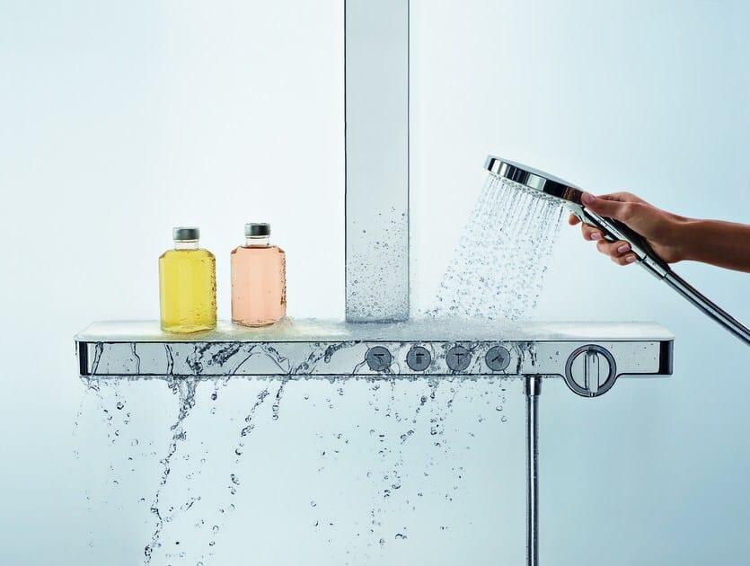 Showertablet select 700 mitigeur thermostatique de - Mitigeur salle de bain hansgrohe ...