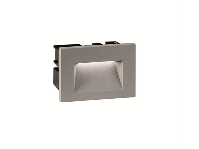 Segnapasso a LED a parete in alluminio per esterni THETA 1 by Terzo Light
