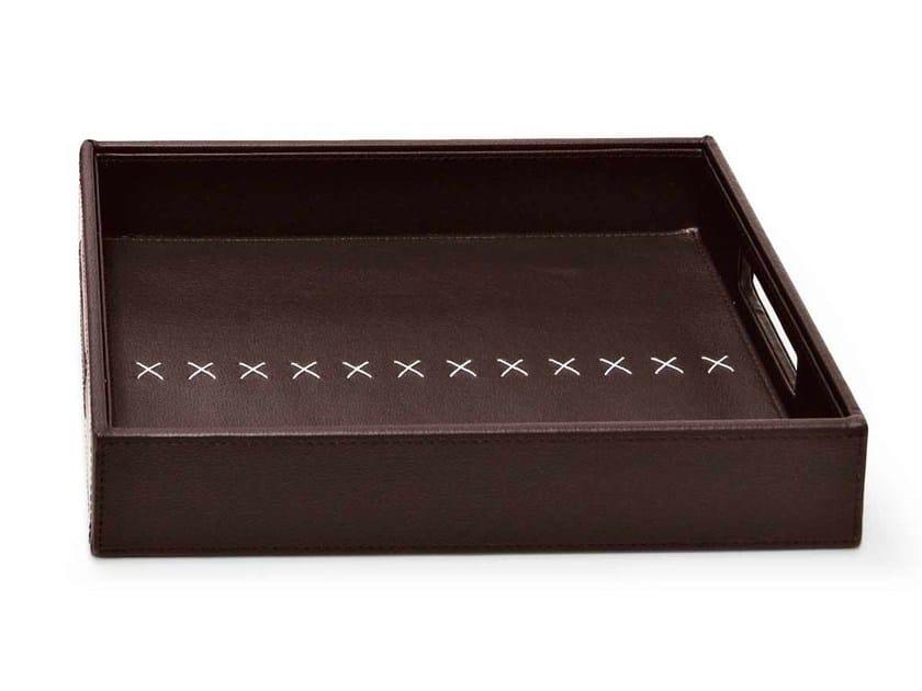 Rectangular PVC tray THOMAS by Calligaris