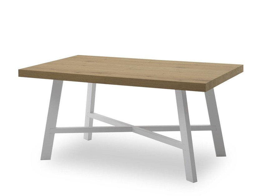 Extending rectangular table THOR | Extending table by Pointhouse