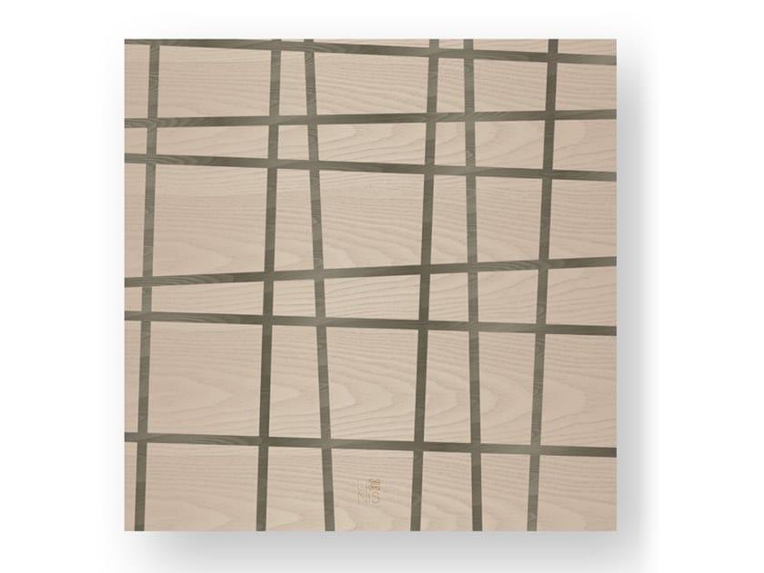Quadro in legno intarsiato THREE COLD by LIGNIS®