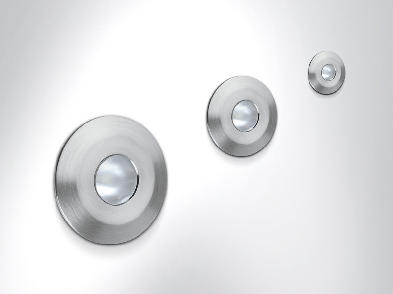 Stainless steel steplight THUNDER by Arcluce
