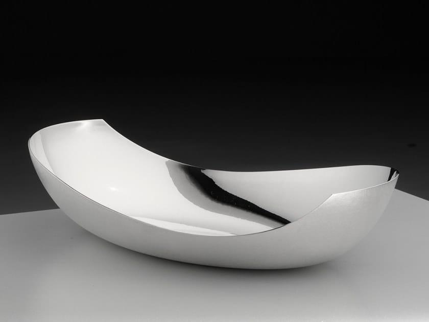 Silver bowl TIATAI by ZANETTO