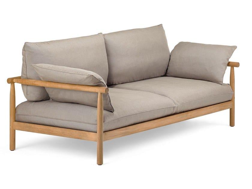 2 seater fabric sofa TIBBO | 2 seater sofa by DEDON