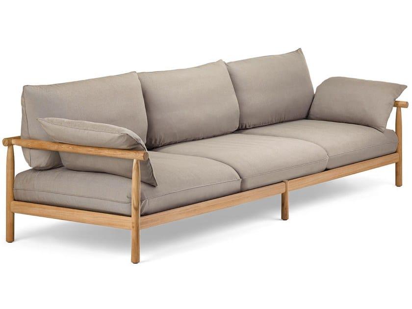 Tibbo divano da giardino a posti collezione tibbo by dedon