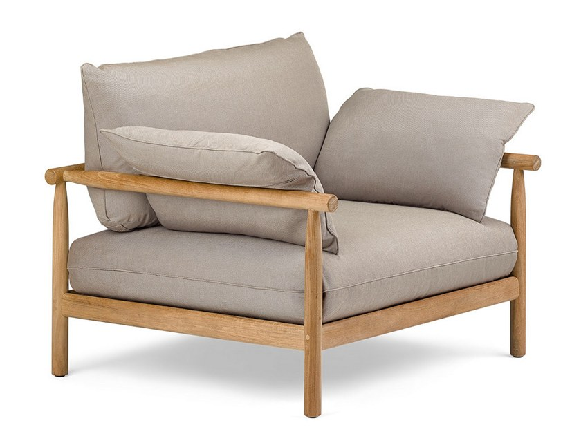 Fabric Armchair With Armrests Tibbo Garden Dedon