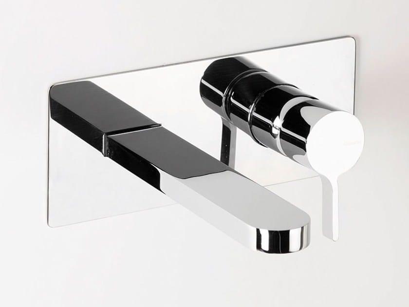 Wall-mounted washbasin mixer TIE | Wall-mounted washbasin mixer by RITMONIO