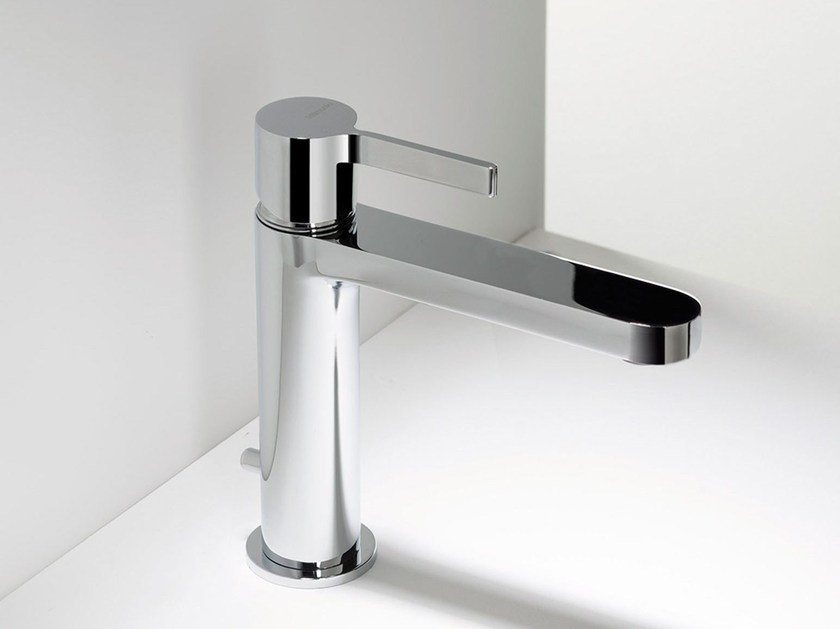 Countertop washbasin mixer TIE | Single handle washbasin mixer by RITMONIO