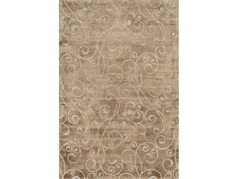 Hand-tufted rug TIFFANY ECRÙ by Sirecom
