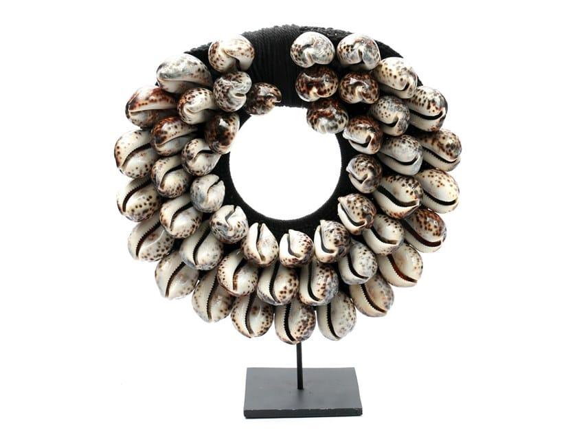 Metal decorative object TIGER COWRIE NECKLACE by Bazar Bizar