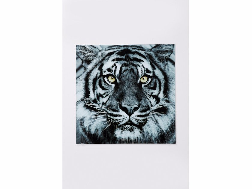 Photographic print / Print on glass TIGER by KARE-DESIGN