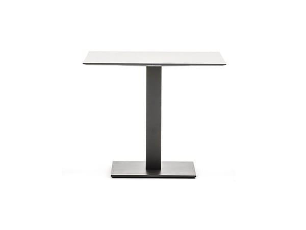 Base per tavoli in acciaio verniciato a polvere TIGHT LOW | Base per tavoli by Varaschin