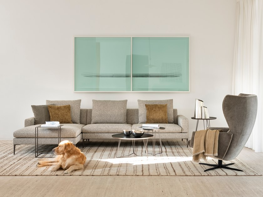 Fabric sofa TIGRA LANDSCAPE by JORI