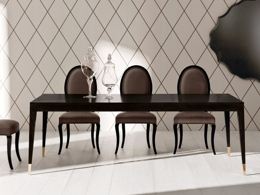 Extending wooden table TIGRANA CLASSIC | Rectangular table by OPERA CONTEMPORARY