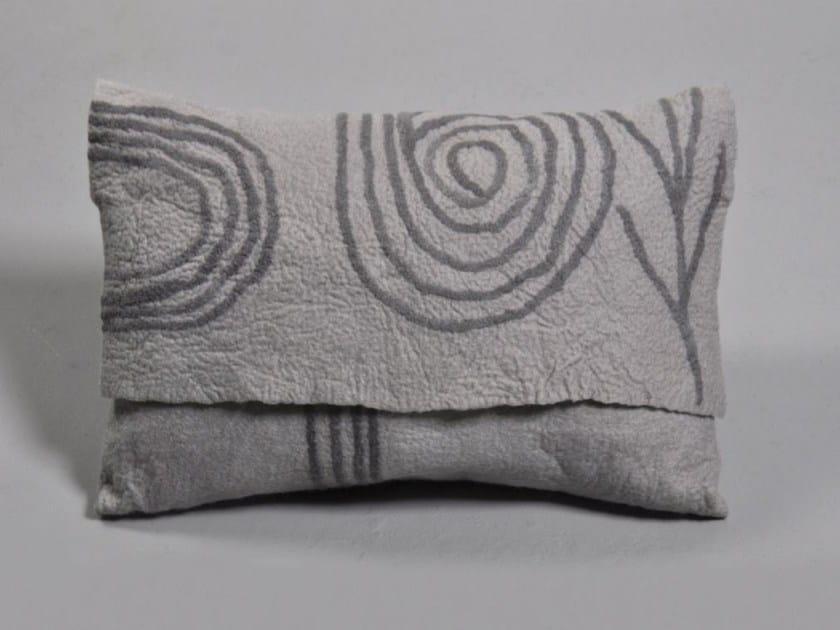 Wool felt cushion TIKAR by Ronel Jordaan™