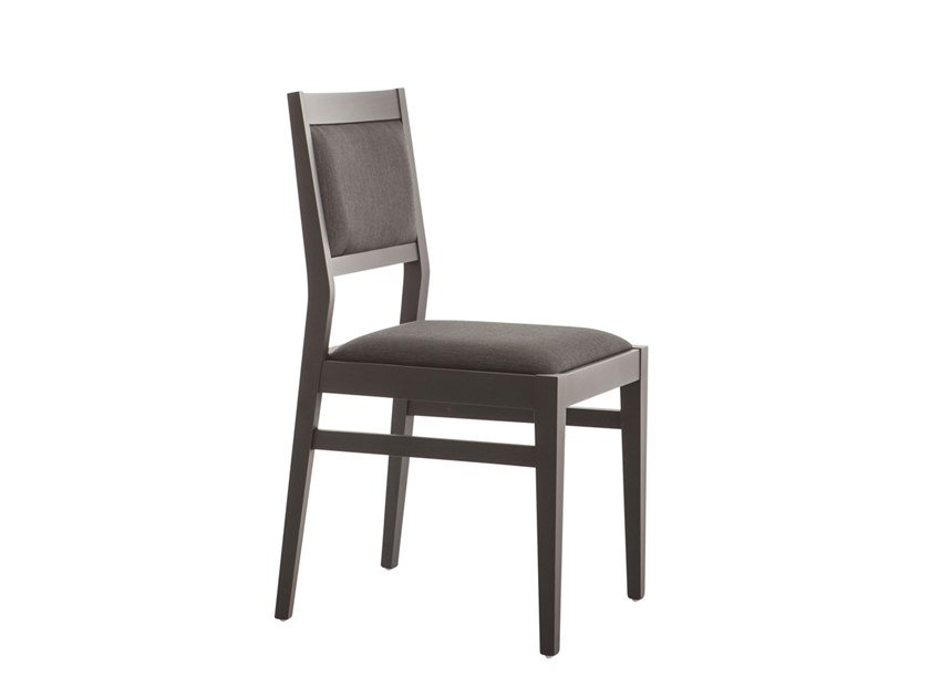 Classic style upholstered beech restaurant chair TILDE 473D.i1 by Palma
