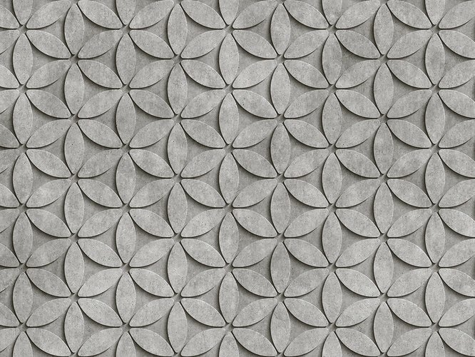 Digital printing wallpaper TILE by Architects Paper
