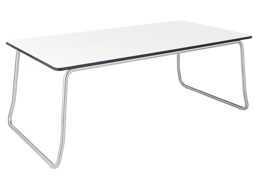 Sled base rectangular garden side table TILOS | Garden side table by MOBIKA GARDEN
