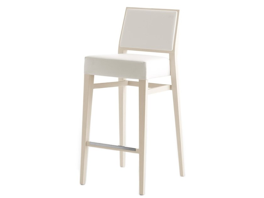 High stackable stool TIMBERLY 01784 by Montbel
