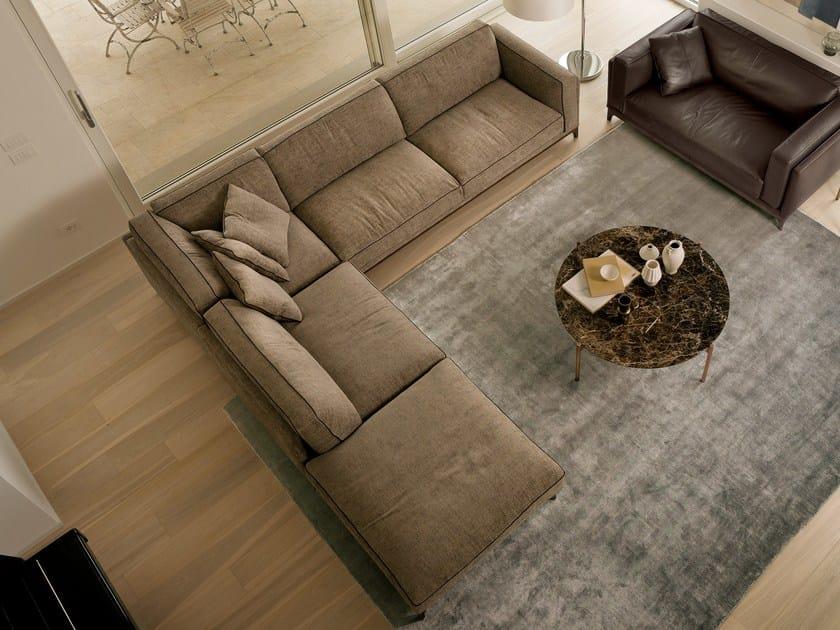 Corner sectional fabric sofa TIME | Corner sofa by CTS SALOTTI