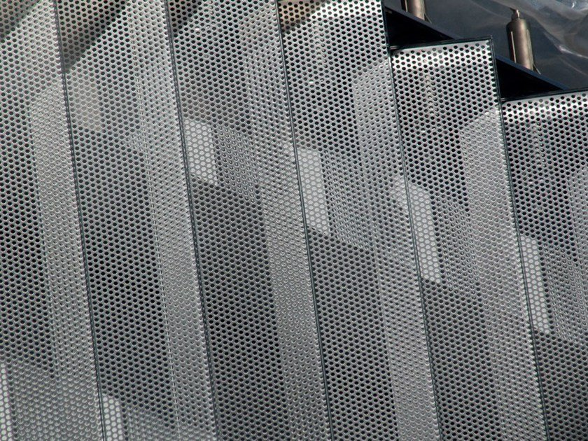 Frangisole motorizzato orientabile in acciaio inox e vetro TIME by GATTI PRECORVI
