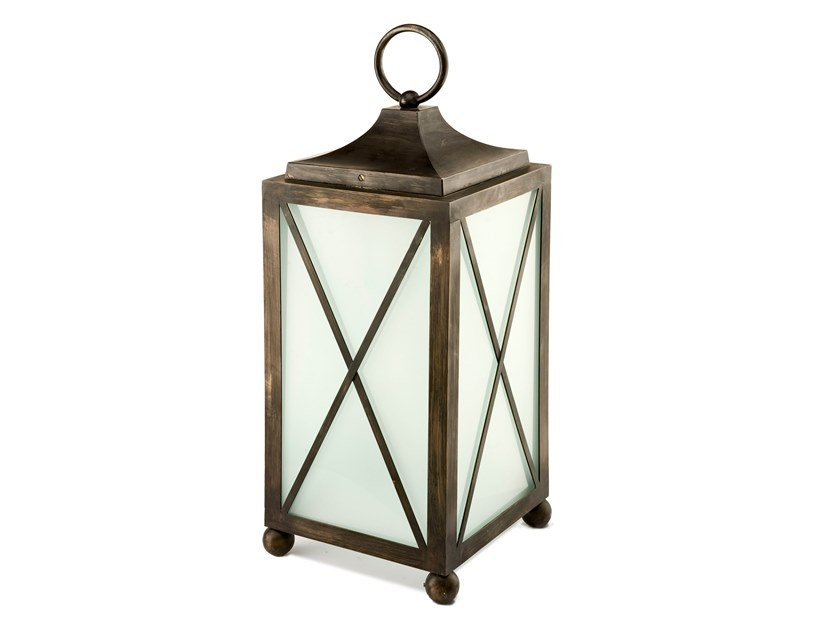 Brass lantern TIMELESS HOF 01 by Il Bronzetto