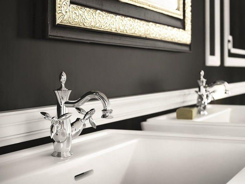 Rubinetto per lavabo cromo da piano monoforo TIMOR | Rubinetto per lavabo cromo by Gattoni Rubinetteria