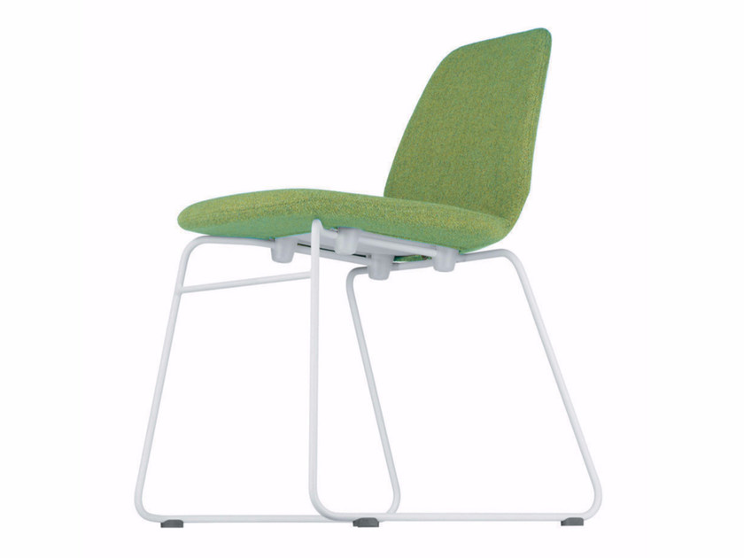 Sled base stackable chair TINDARI CHAIR - 517 by Alias