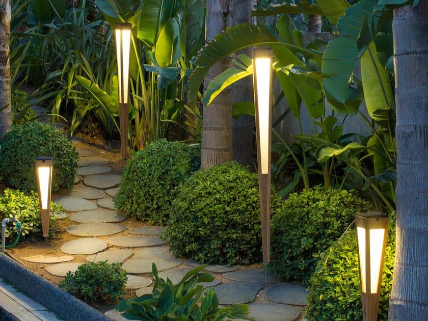 tinka bollard light tinka collection by les jardins