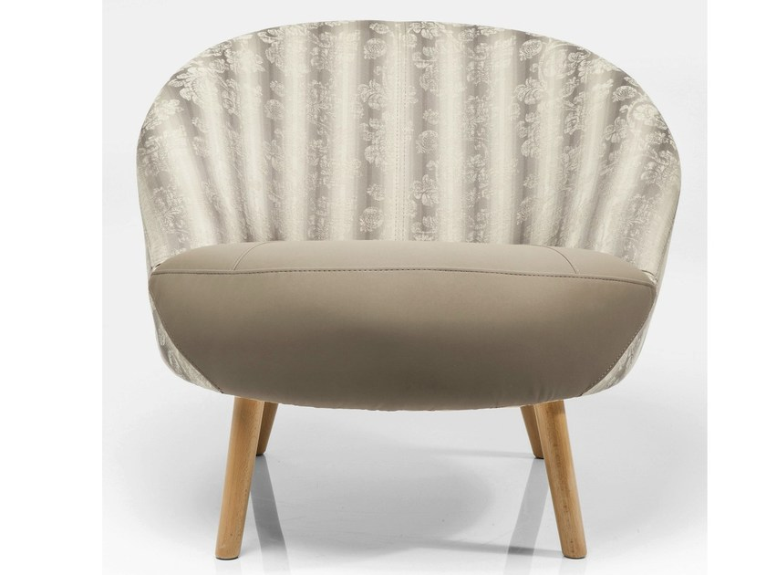 Classic style fabric armchair TINY INCLIEND by KARE-DESIGN