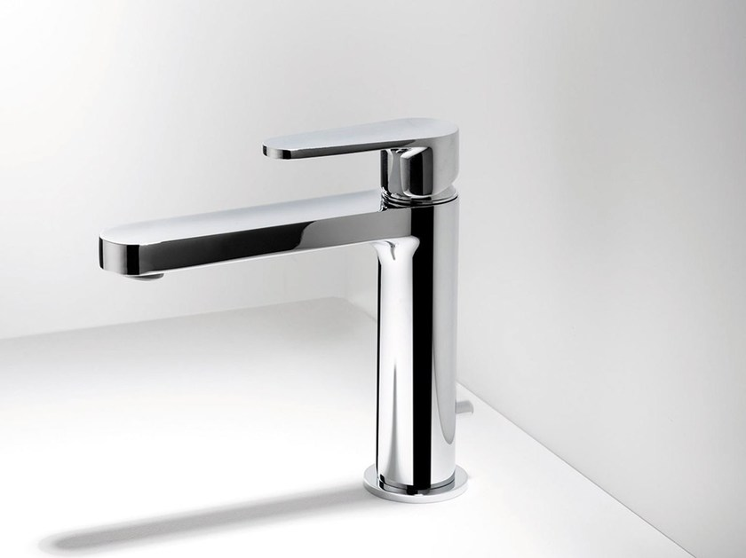 Countertop washbasin mixer TIP | Single handle washbasin mixer by RITMONIO