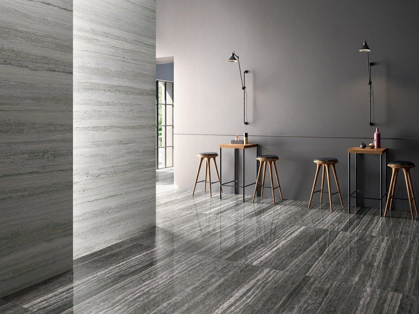 Porcelain stoneware wall/floor tiles with travertine effect TIPOS OCEAN by CERAMICA SANT'AGOSTINO