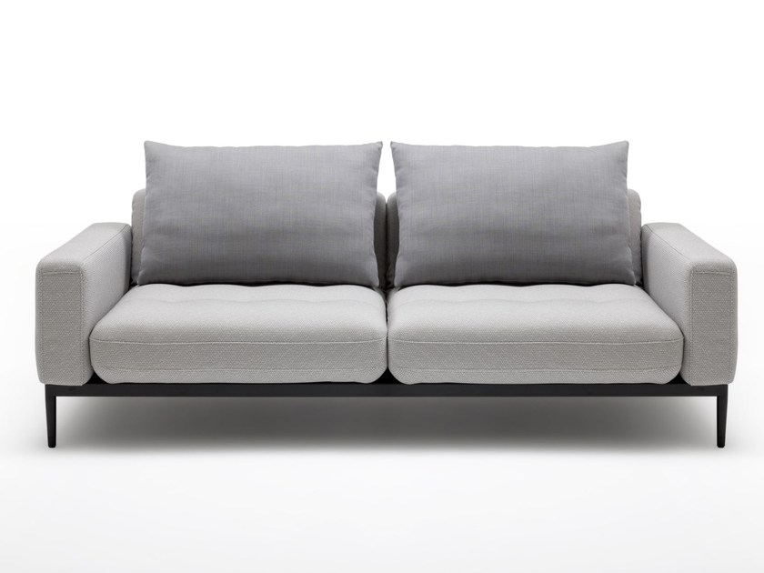 Fabric sofa TIRA | 2 seater sofa by Rolf Benz