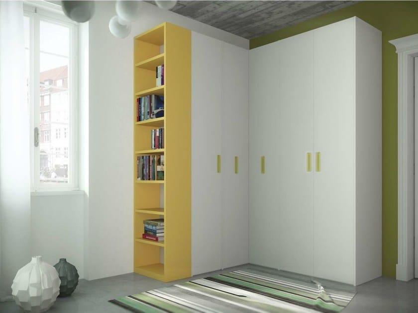 Corner lacquered wardrobe TIRAMOLLA 917-A by TUMIDEI