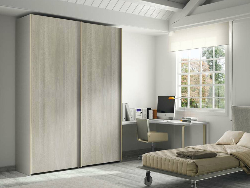 Wardrobe with sliding doors TIRAMOLLA 942-A by TUMIDEI