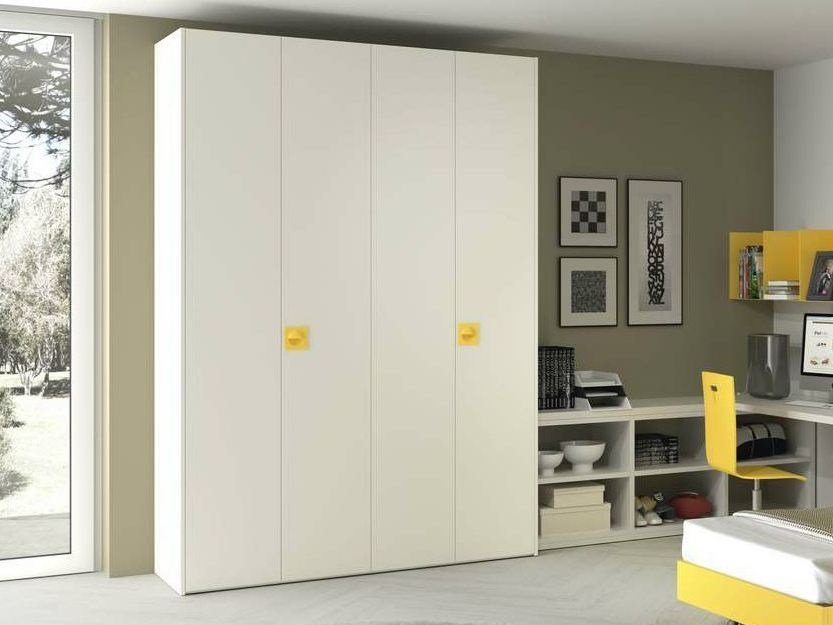 Sectional lacquered wardrobe TIRAMOLLA 944-A by TUMIDEI