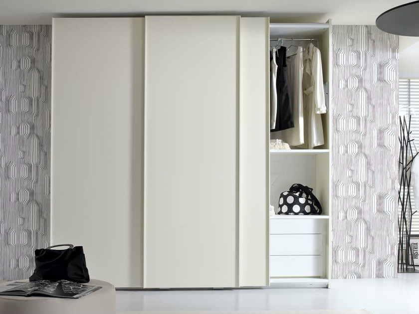 Sectional wardrobe with sliding doors TIRAMOLLA 945-A by TUMIDEI