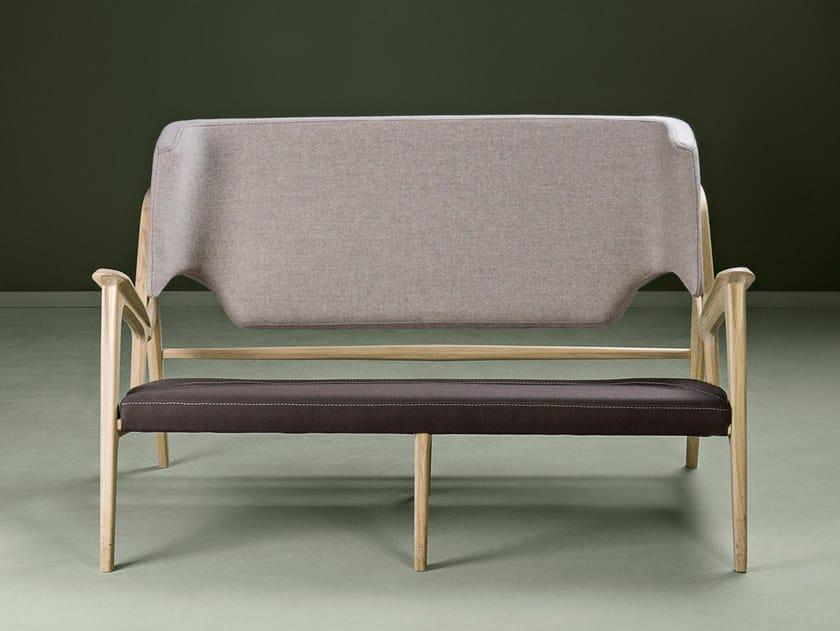 Fabric small sofa TISA | Small sofa by HOOKL und STOOL