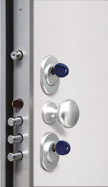 Lacquered safety door TITANO by Bertolotto Porte