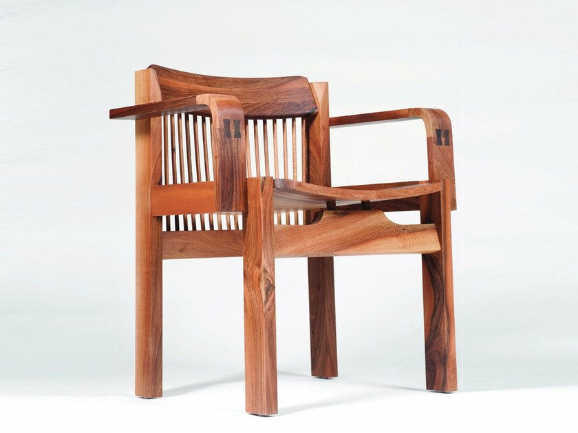 Walnut chair TITO by Artisan