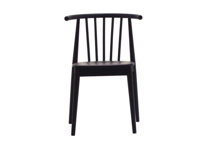 Stackable ash chair TIVOLI | Chair by Cizeta L'Abbate