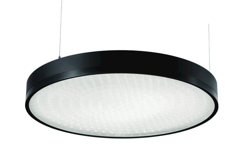 LED aluminium pendant lamp TLON Z/W by FLASH DQ