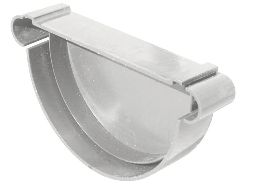 Accessorio per canale di gronda in PVC TN125N by First Corporation