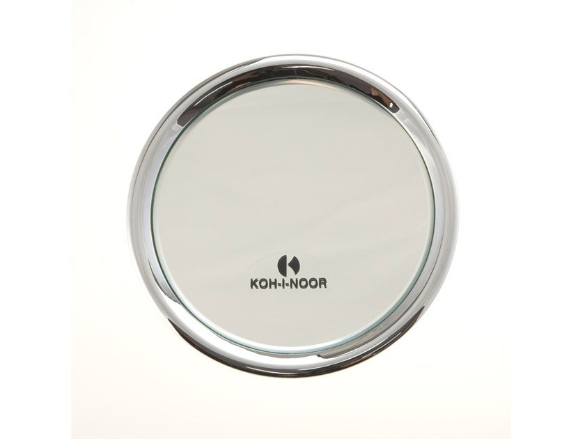 Wall-mounted round shaving mirror TOELETTA by KOH-I-NOOR